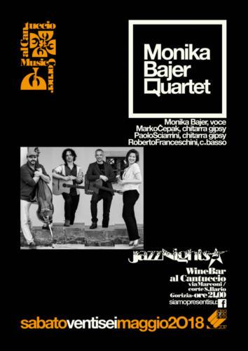 Monika Bajer Quartet Locandina 26-05-2018